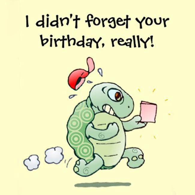 happy belated birthday card  matildastory