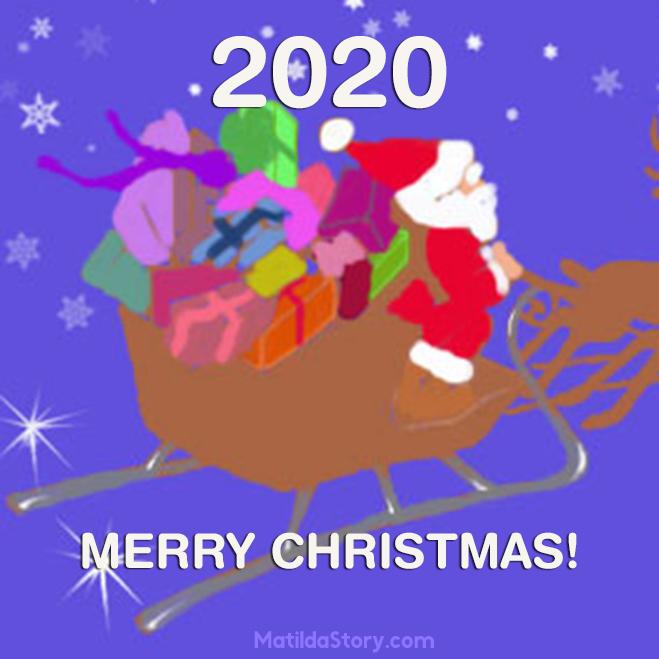 Merry Christmas Images 2020.Christmas Card 2020 Printable Matildastory Com