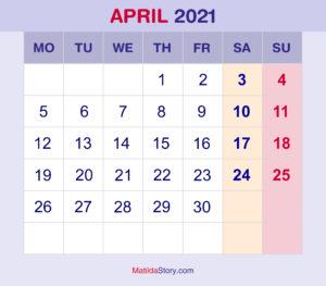 September 2021 Monthly Calendar, Monthly Planner ...