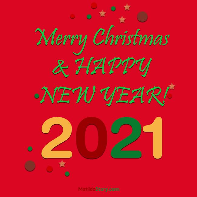 Printable Christmas Cards 2021 Christmas Card 2021 Merry Christmas Card Free Printable Red Card Matildastory Com